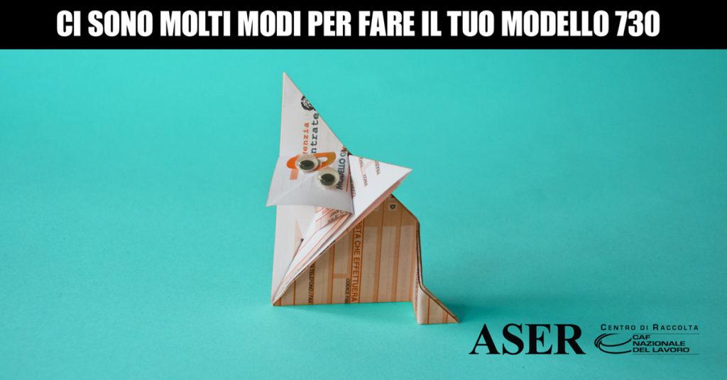 Ci sono molto modi per fare il tuo modello 730 - Foto origami con modulo 730 - volpe