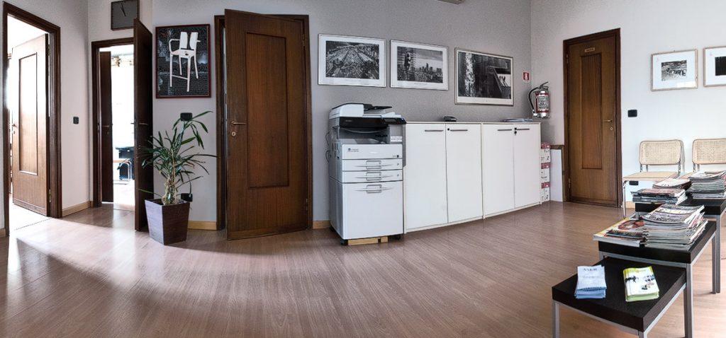 Aser srl Reggio Emilia - sala d'aspetto