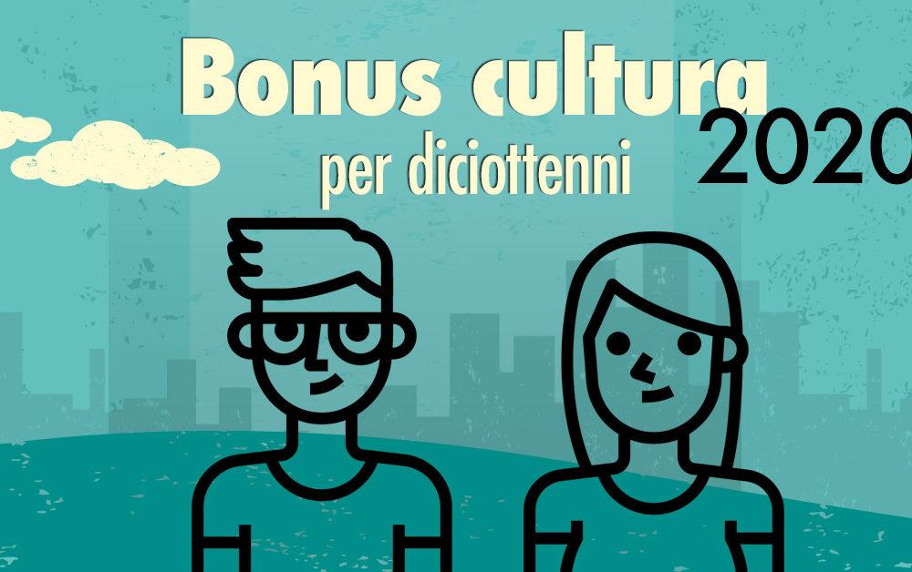 Bonus cultura per maggiorenni 2020