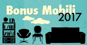 Detrazioni fiscali per acquisto mobili/elettrodomestici (Bonus Mobili 2017)