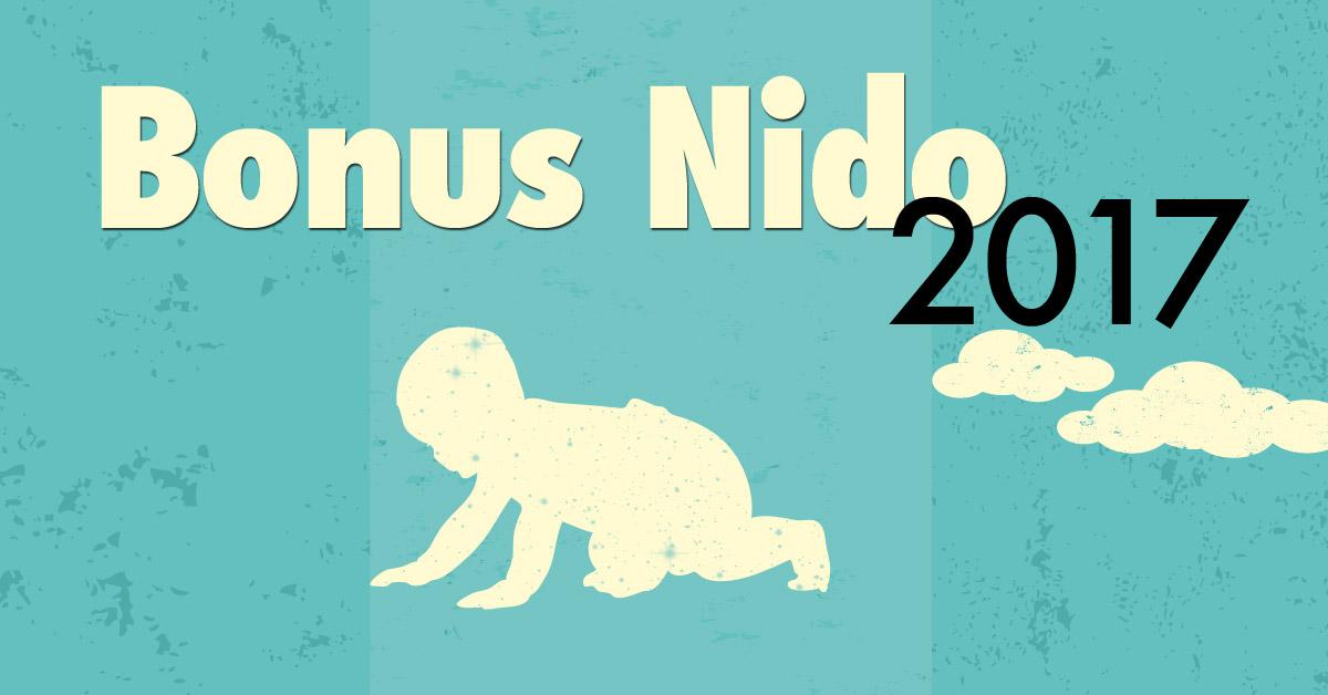 Bonus Nido 2017 - legge di bilancio 2017