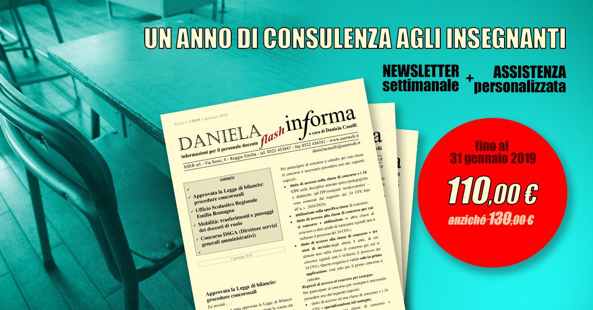 Abbonamento Daniela Informa - PROMOZIONE