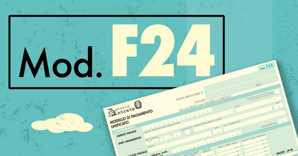 F24 pagabile in banca posta anche oltre i for Dove pagare f24