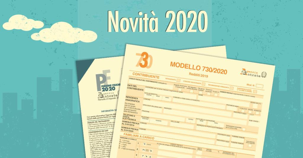 Novità 730 2020
