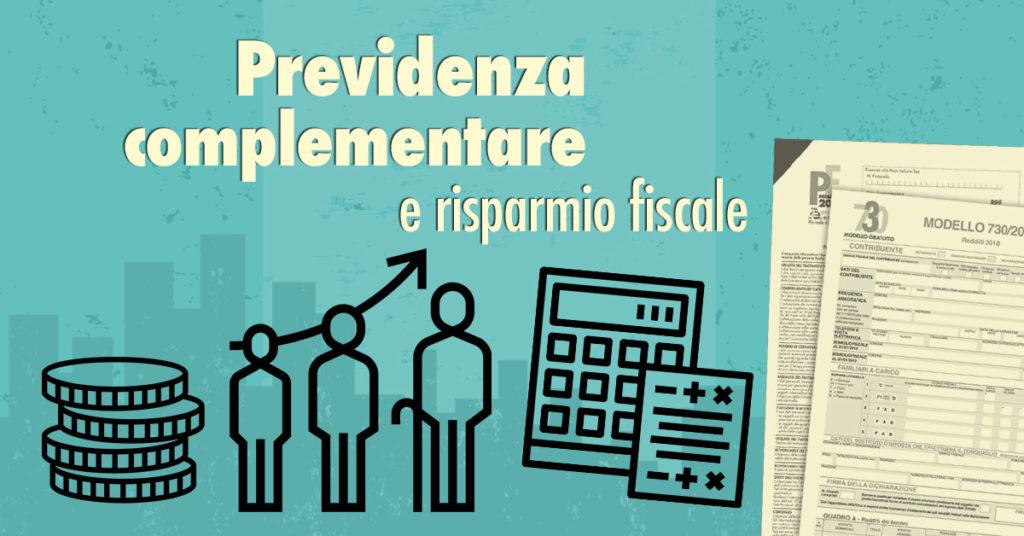 Previdenza complementare e risparmio fiscale